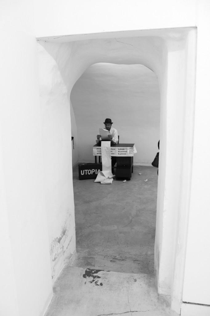 Präsentation in der Galerie