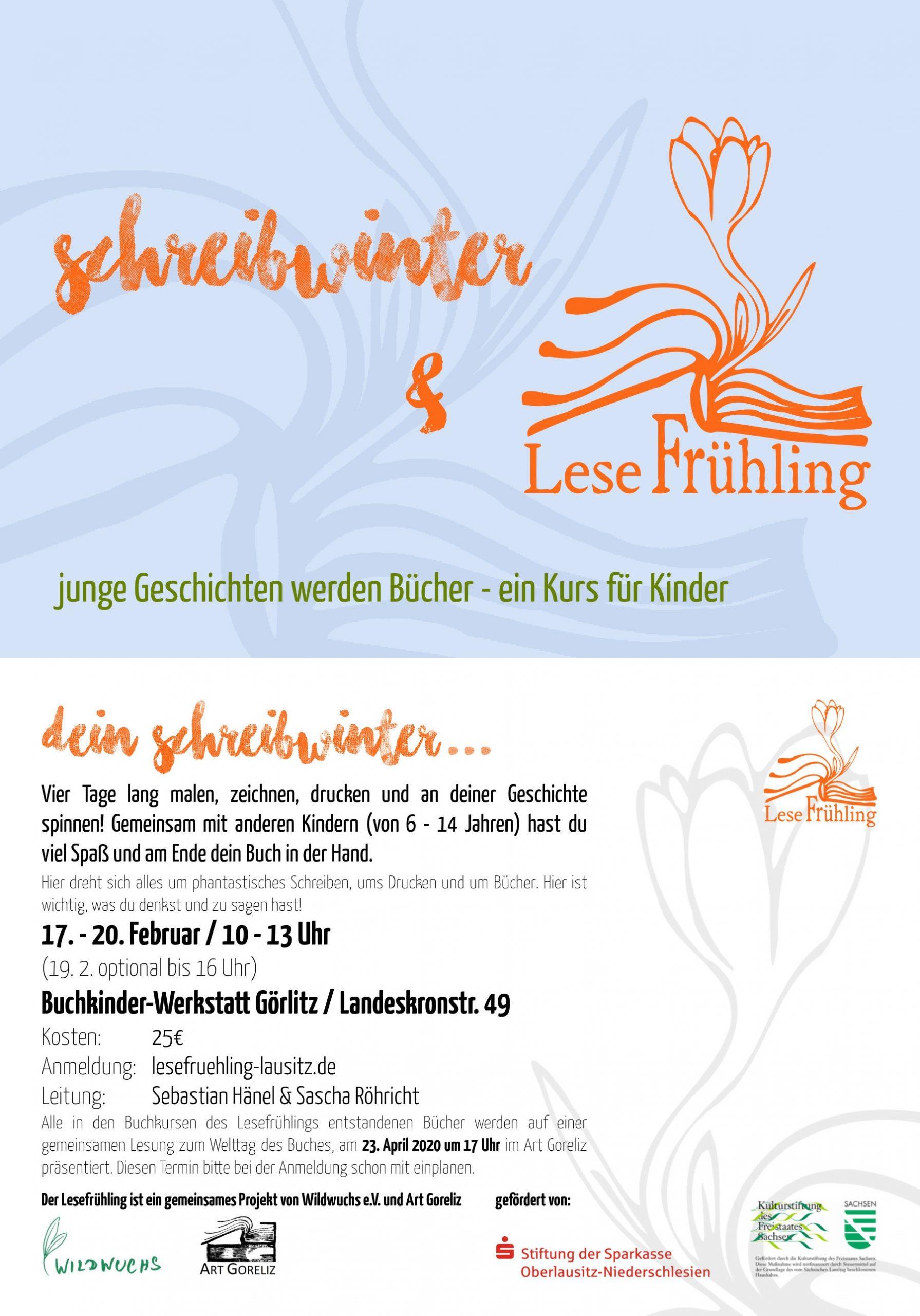 Schreibwinter & Lesefrühling